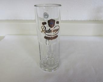 """Vintage """"Radeberger"""" Pilsner Glass"""