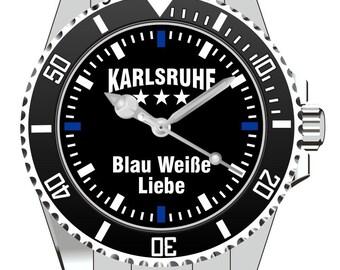 Karlsruhe - white love - KIESENBERG® Blue Watch 2496