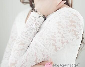 Bracelet of Forgiveness - Essence Bracelet, Gemstone, Jewelry, Silver, Health and Wellness, Gift Idea, Healing Bead Bracelet