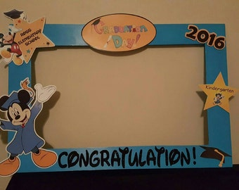 Mickey Mouse Graduation Photo Prop