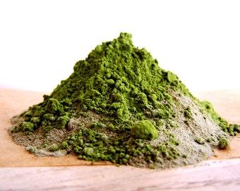 Seaweed Green Clay & Matcha Face Mask -Natural Skincare Clean Scottish Kelp 50g