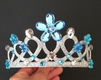 Cinderella Crown,Elsa Crown,cinderella costume,Cinderella Headband,Cinderella elastic headband,Elsa elastic headband,Cinderella accessory