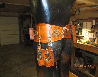Steampunk utility belt