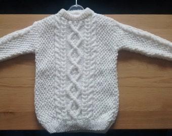116/6-Irish cable sweater