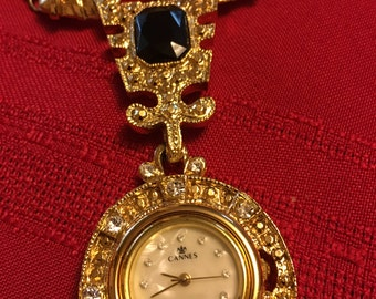 Vintage Canne's Pendant Watch
