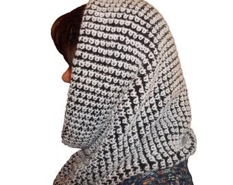 Chunky Cowl Scarf Infinity knitting