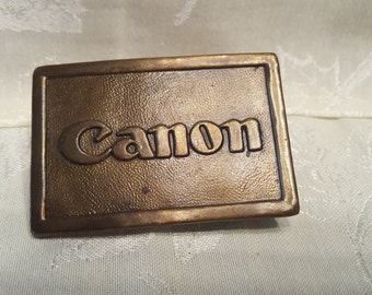 Ambico Metal Canon Belt Buckle Made in 1970s