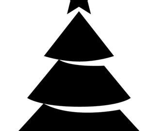 Folded book art Christmas Tree test pattern