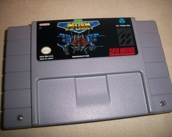 Imperium Snes Super Nintendo Shmup Shooter Reproduction Game