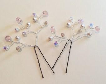 wedding/bridal hairpin set of 2