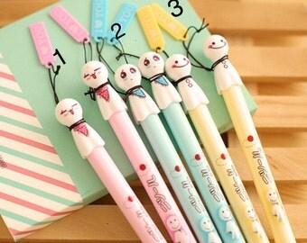 Phantom gel pen (Têtu teru Bozu) choice: