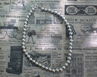 Vintage Silver Beads