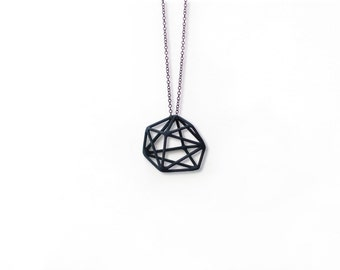 SYNAPSES COLLECTION - geometric 3D printed nylon earrings