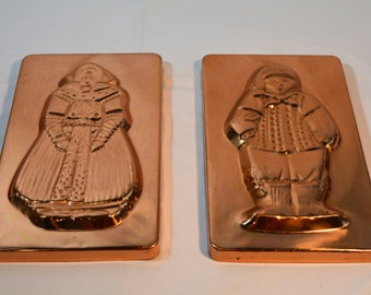 Copper Molds, Gingerbread, Hansel and Gretel, Wall Hangings, Jello Molds