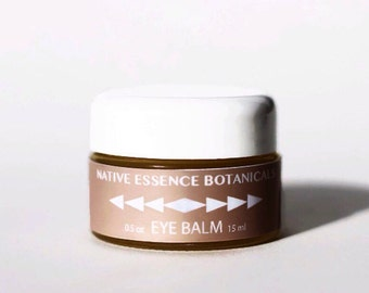 Eye Balm - Under Eye Cream - Eye Treatment - Moisturizer - Natural Skin Care - Organic Skincare - Eye Lotion