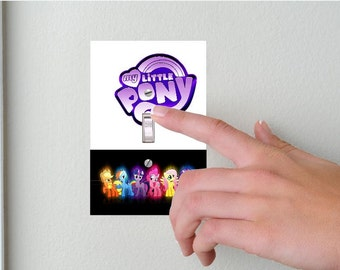 MY LITTLE PONY- Light switch Cover- My Little pony Switch Plate Cover