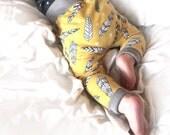 The Feathers Organic Cotton Baby Harem Pants Leggings Joggers