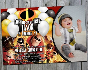 The Incredibles Birthday Invitations, The Incredibles Invitation, The Incredibles Invites, The Incredibles Invitations, The Incredibles 2