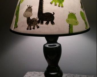 Giraffe lamp, giraffe nursery/child's lamp, nursery lighting/decor, Zoo animal lamp, accent lamp, Nursery decor, baby gift. Shower gift