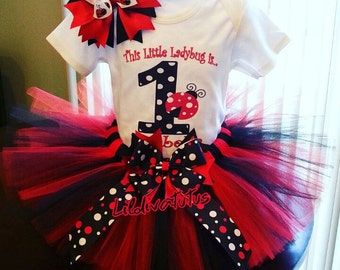 Lady bug tutu set / Ladybug tutu set