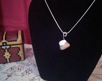 Skyrim Inspired Sweetroll Pendant