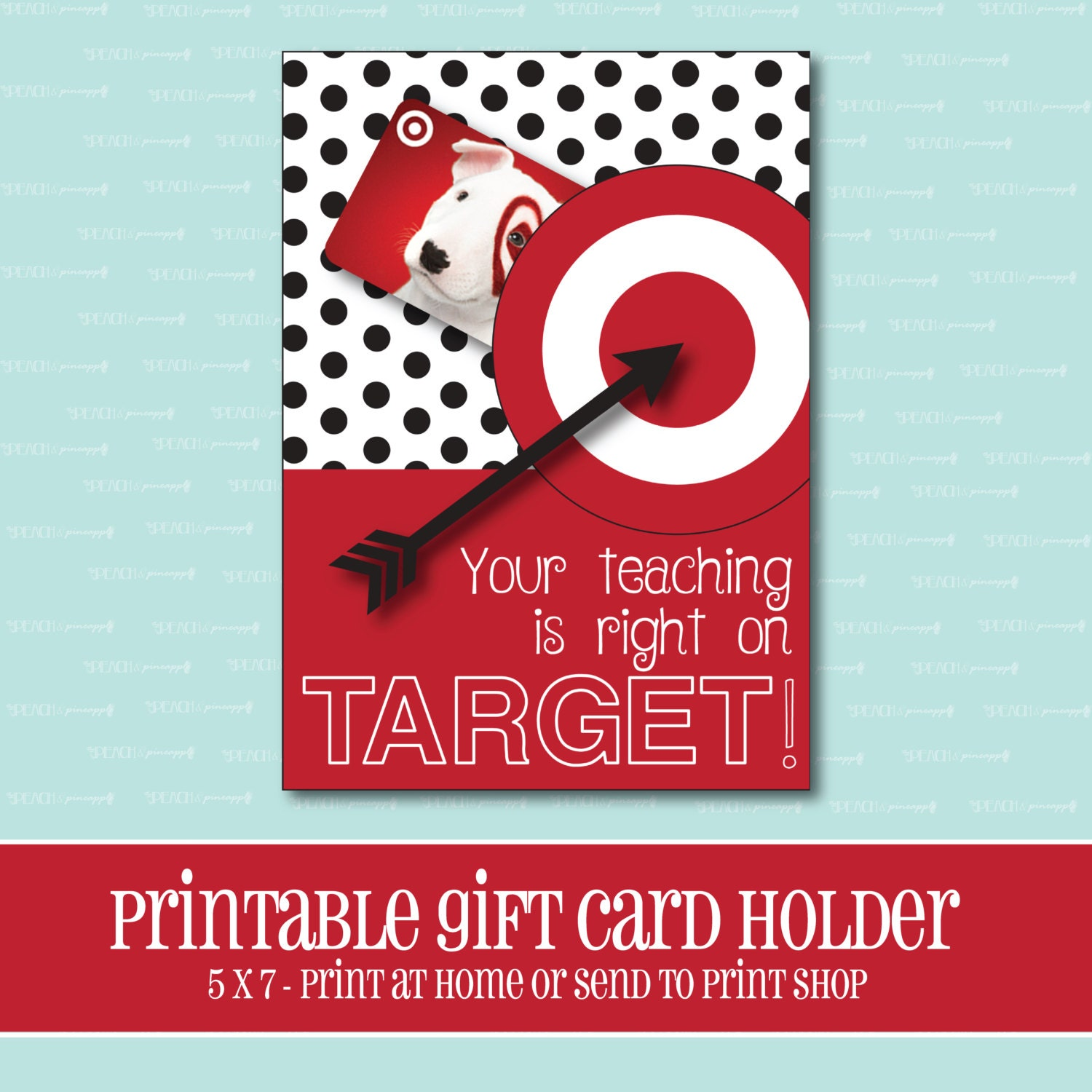 INSTANT DOWNLOAD Amazon Gift card Holder Amazing Teacher