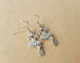 Ballerina Dangle Earrings