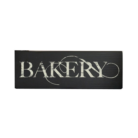 Rustic Kitchen Signs: Kitchen Sign Kitchen Decor Bakery Sign Rustic Kitchen