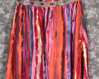 Colorful 90's Skirt