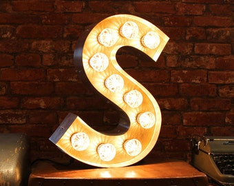 Letter Light S