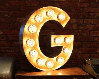 Letter Light G
