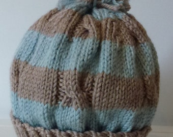 Hand knitted beanie - Toddler