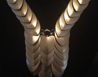 Scalemail Necklace- Gold