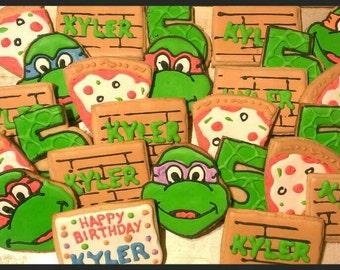 Teenage mutant ninja turtles cookies (12)