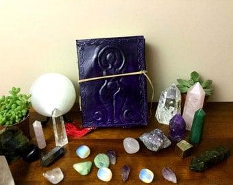 Purple Triple Goddess Grimoire