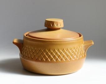 Nefertiti stoneware by Diana - casserole dish with lid