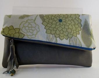 One of a kind designer handbag, purse, clutch, evening bag