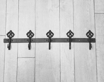 Key, Hook, Wall Hook, Key Hook, Storage, Organizer, Rustic, Rack