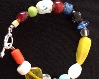Mix bead bracelet