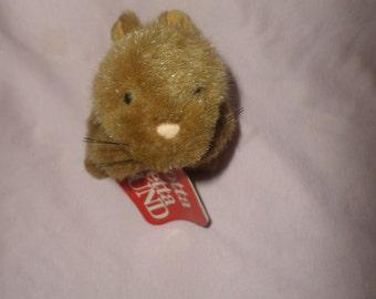 Vintage Gund Hamster plush Sneakers  Brown NWT 1993