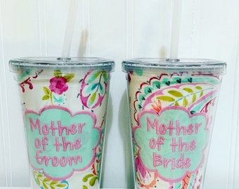 Mother of the Bride & Mother of the Groom Tumblers