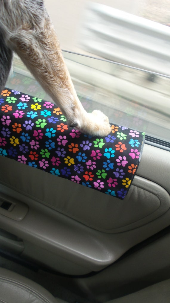 dog travel car door protector from dog scratches dog etsy. Black Bedroom Furniture Sets. Home Design Ideas