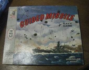 1964 MB Guided Missile Navy Game Board game