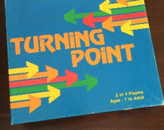 RARE Vintage Board Game Turning Point 1986