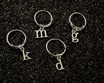 Adjustable Ring With Initials