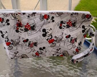 Mickey mouse bag, Disney bag, Mouse bag, Minnie mouse bag, Project bag, Crochet bag, Travel bag