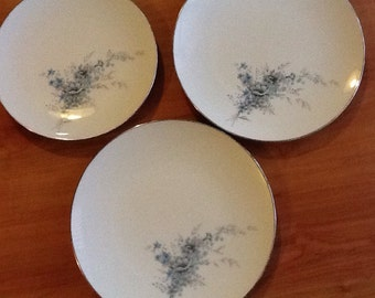 """Noritake plates from the 1960s """"Sonnet 6656"""""""