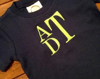 Monogrammed T-shirt, Boys