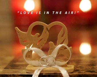 "Wedding Favor/Recuerdo de Boda ""Love Is In The Air"""
