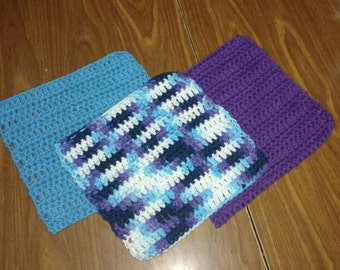 Set of 3 dishcloths